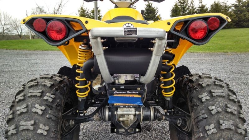 Can am renegade 500 800 1000 slip on trail tamer exhaust gse performance