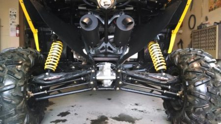 #1038 - CAN-AM MAVERICK 1000 DUAL SLIP ON TRAIL TAMER MUFFLERS