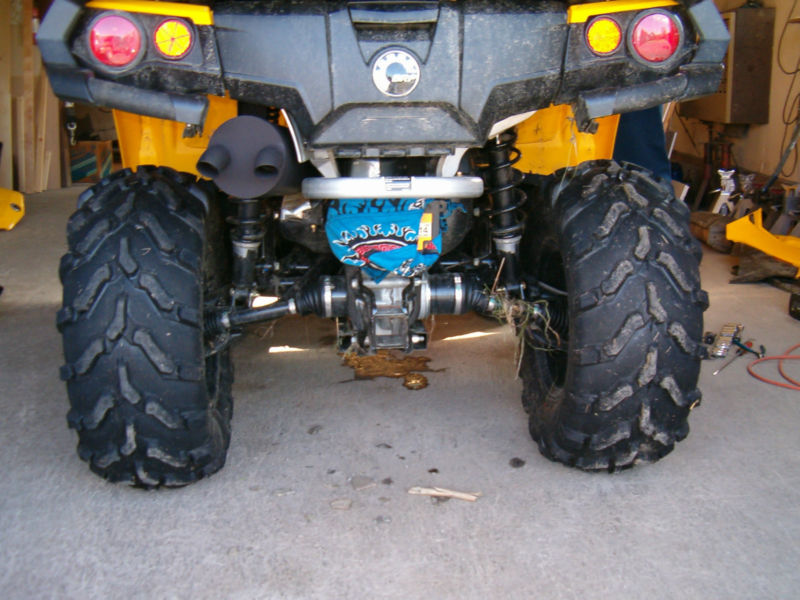 CAN AM OUTLANDER L TRAIL TAMER MUFFLER by GSE Performance