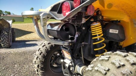 CAN-AM RENEGADE 500 800 1000 SLIP ON TRAIL TAMER EXHAUST