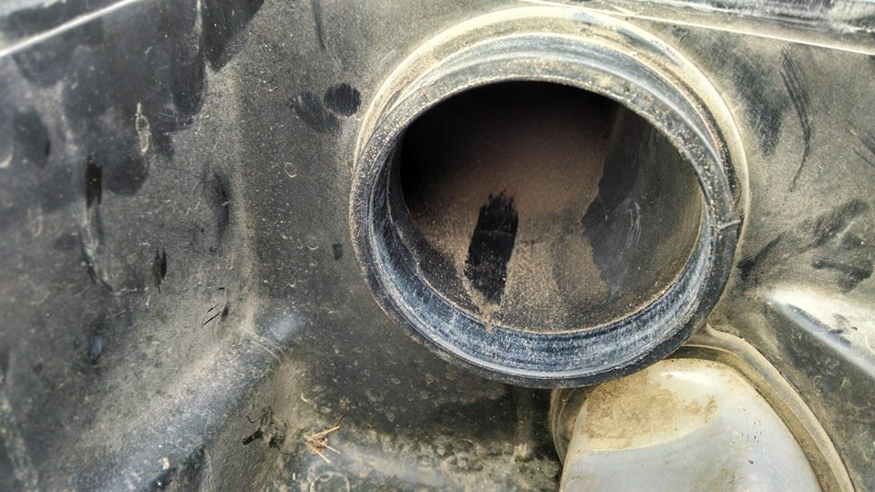 THIS IS WHY ATV OWNERS NEED OUR NEW HIGH FLOW AIR FILTER !!!