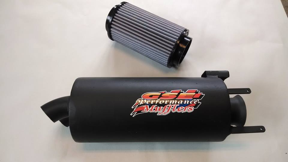 GSE Performance Muffler & Air Filter for 800 Polaris Sportsman 2005-2007