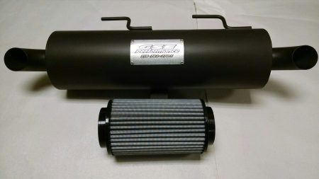 POLARIS SPORTSMAN 550 850 TRAIL STALKER MUFFLER FILTER COMBO DEAL