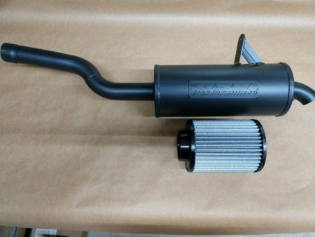 #0629/CA0371 - CAN-AM OUTLANDER 500 650 800 850 1000 TRAIL TAMER MUFFLER + HIGH FLOW AIR FILTER