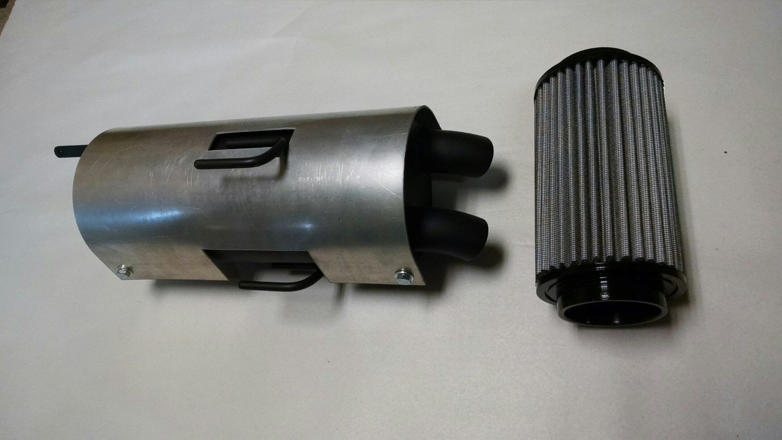 Webb Fuel Filters Polaris Scrambler 850 Trail Tamer Muffler Plus High Flow Air Filter Lightbox