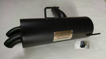 #2238/PR0482 - POLARIS RZR 800 TRAIL TAMER MUFFLER + HIGH FLOW AIR FILTER