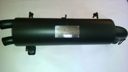 #2395 - Polaris RZR 1000 Trail Tamer muffler  fit's 2014 models