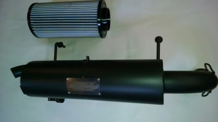 #2395/PR0822 - POLARIS RZR 1000 TRAIL TAMER MUFFLER + HIGH FLOW AIR FILTER