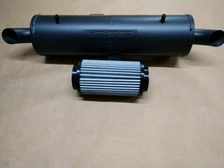#2230/P9614 - POLARIS SPORTSMAN TOURING 550 850 HO EPS X2 TRAIL STALKER MUFFLER / FILTER COMBO