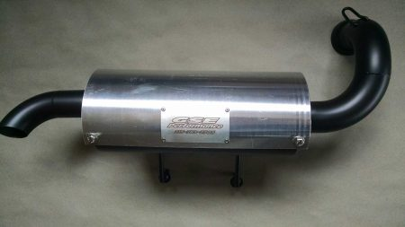 Polaris RZR 900 + 900 ACE Trail Tamer muffler and High Flow Filter