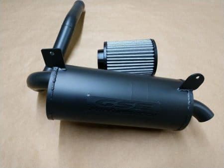 #1392/CA0371- CAN-AM Outlander L 450 500 570 SLIP ON TRAIL TAMER MUFFLER + HIGH FLOW AIR FILTER