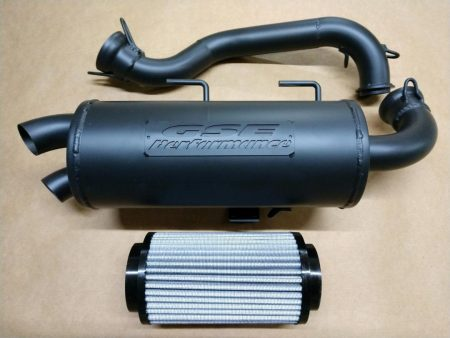 Polaris 15-16 Sportsman 1000 Touring Trail Tamer muffler + High Flow Air Filter Combo Deal