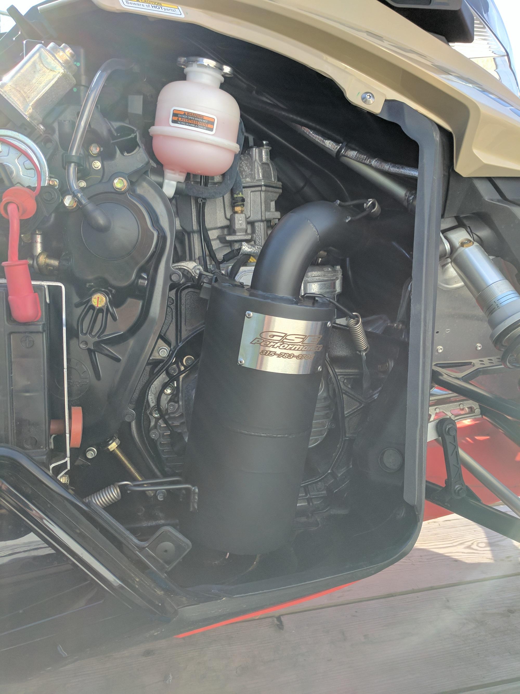 Ski Doo 900 Ace Trail Stalker Muffler Exhaust Can Gse Performance 2004 Polaris Sportsman 700 Fuel Filter Lightbox