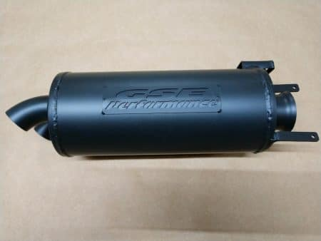 #2445 - POLARIS SPORTSMAN 400 450 500 570 and HAWKEYE 400 TRAIL TAMER MUFFLER