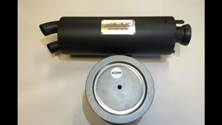 #1617-850/AC996 - Wildcat Sport 700 Trail Tamer Muffler And Filter