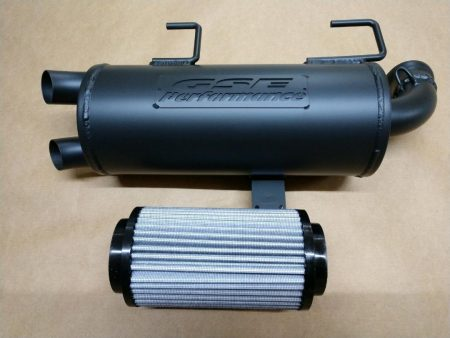 #0914/P9614 - POLARIS SPORTSMAN 550 850 XP TRAIL TAMER MUFFLER PLUS HIGH FLOW FILTER