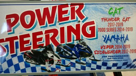 POWER STEERING KIT FOR YAMAHA SIDEWINDER AND ARCTIC CAT THUNDERCAT