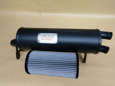 #601987/CA0394 - CAN-AM MAVERICK TRAIL AND SPORT TRAIL TAMER MUFFLER + AIR FILTER COMBO