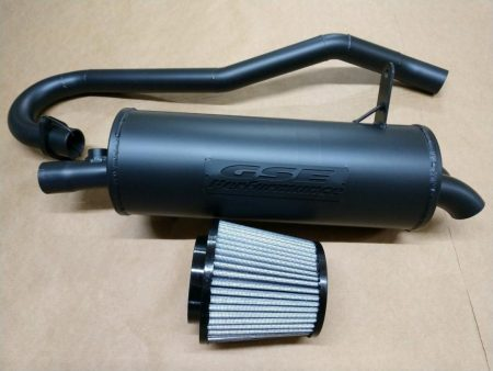 #18300/H183-92 - Honda Rancher 420 FOREMAN 500 Full Exhaust and Air Filter