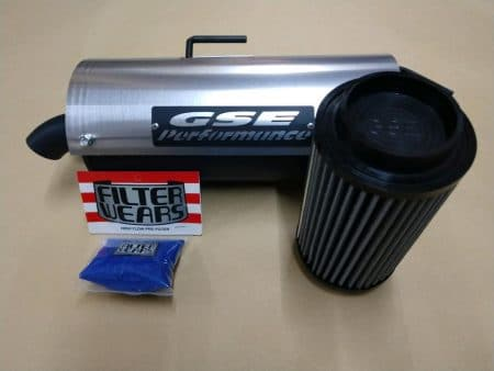#2299/P9614/K238L - POLARIS SCRAMBLER 850 TRAIL TAMER MUFFLER + HIGH FLOW AIR FILTER + PRE FILTER