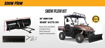 "60"" SNOW PLOW KIT"