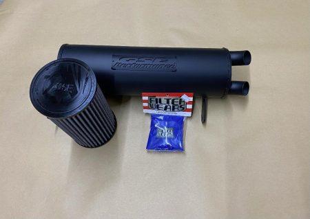 #601987/CA0394/F183L - CAN-AM MAVERICK TRAIL AND SPORT TAMER MUFFLER + AIR FILTER + PRE-FILTER COMBO